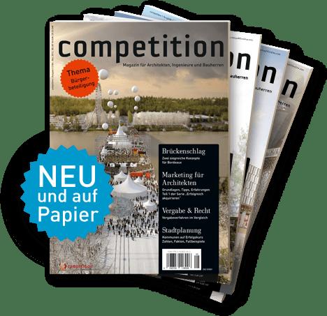 Das Architektur-Magazin competition aus Berlin