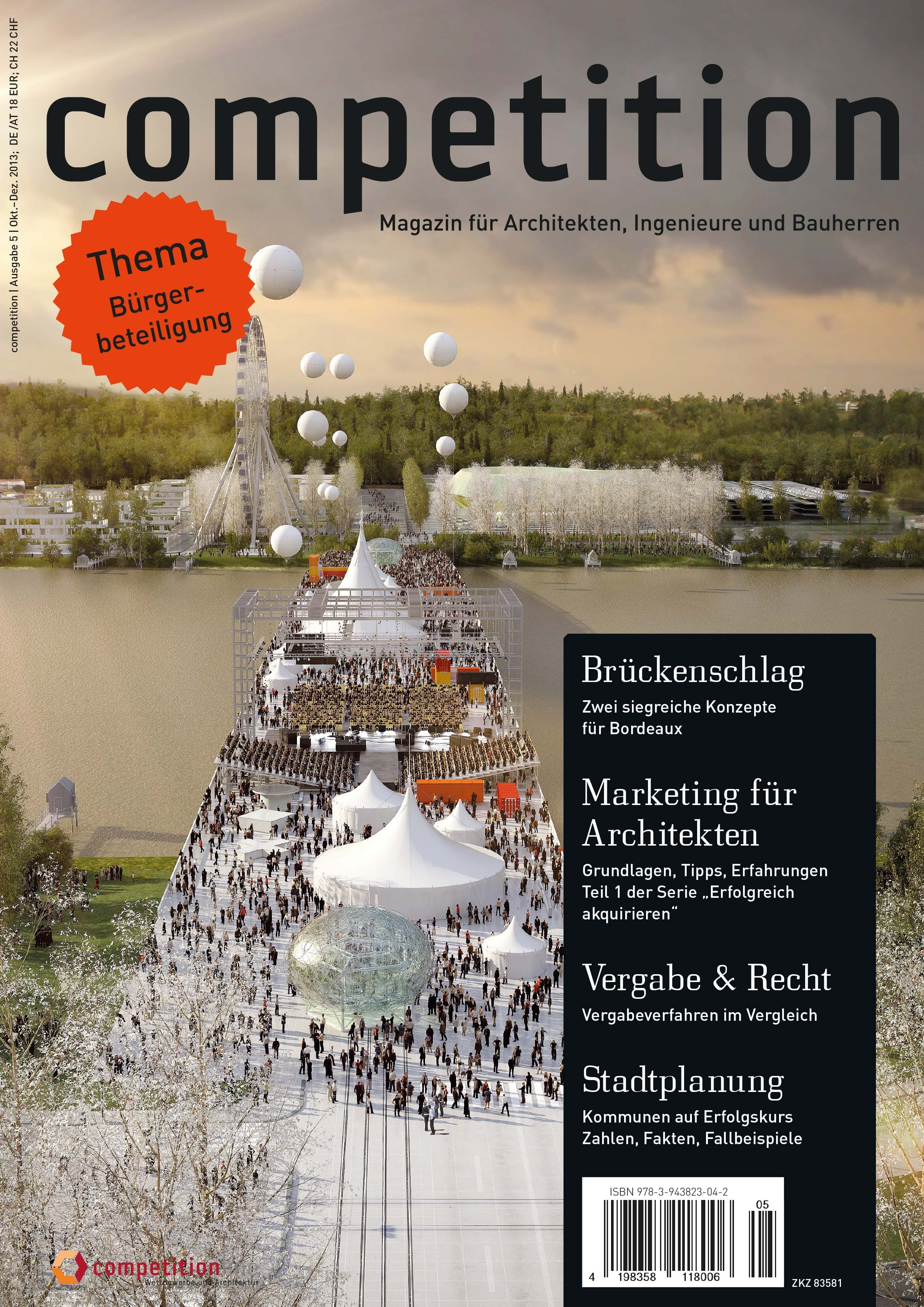 Architektur Magazin schwerpunkt stadtplanung ausgabe 5 der zeitschrift competition