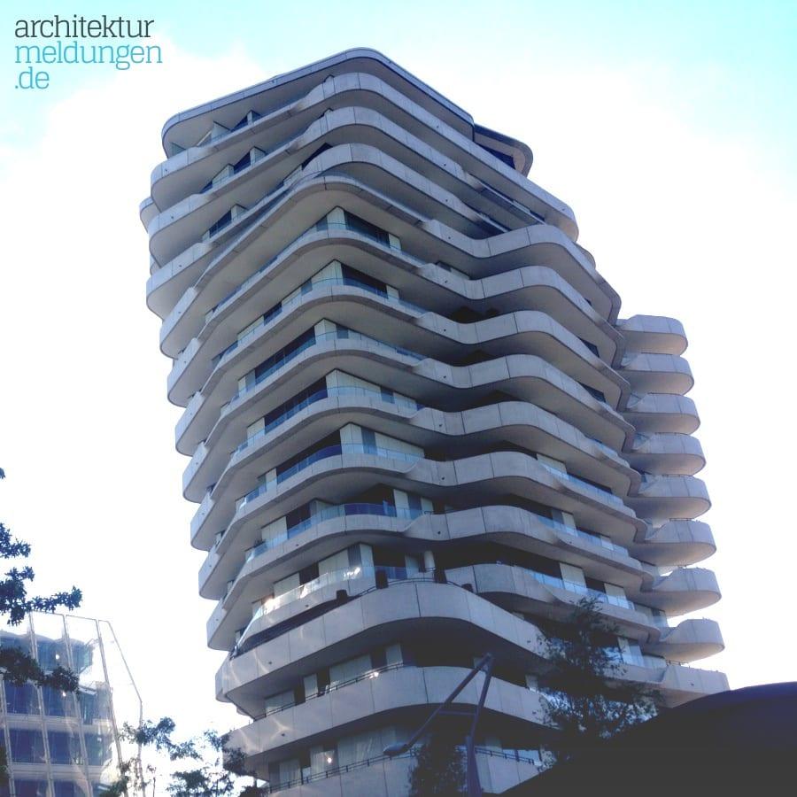 Der Marco Polo Tower in der Hafencity – architekturmeldungen.de