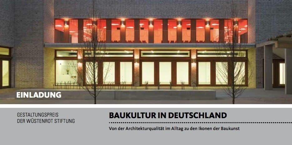 ausstellung baukultur in deutschland in d sseldorf. Black Bedroom Furniture Sets. Home Design Ideas
