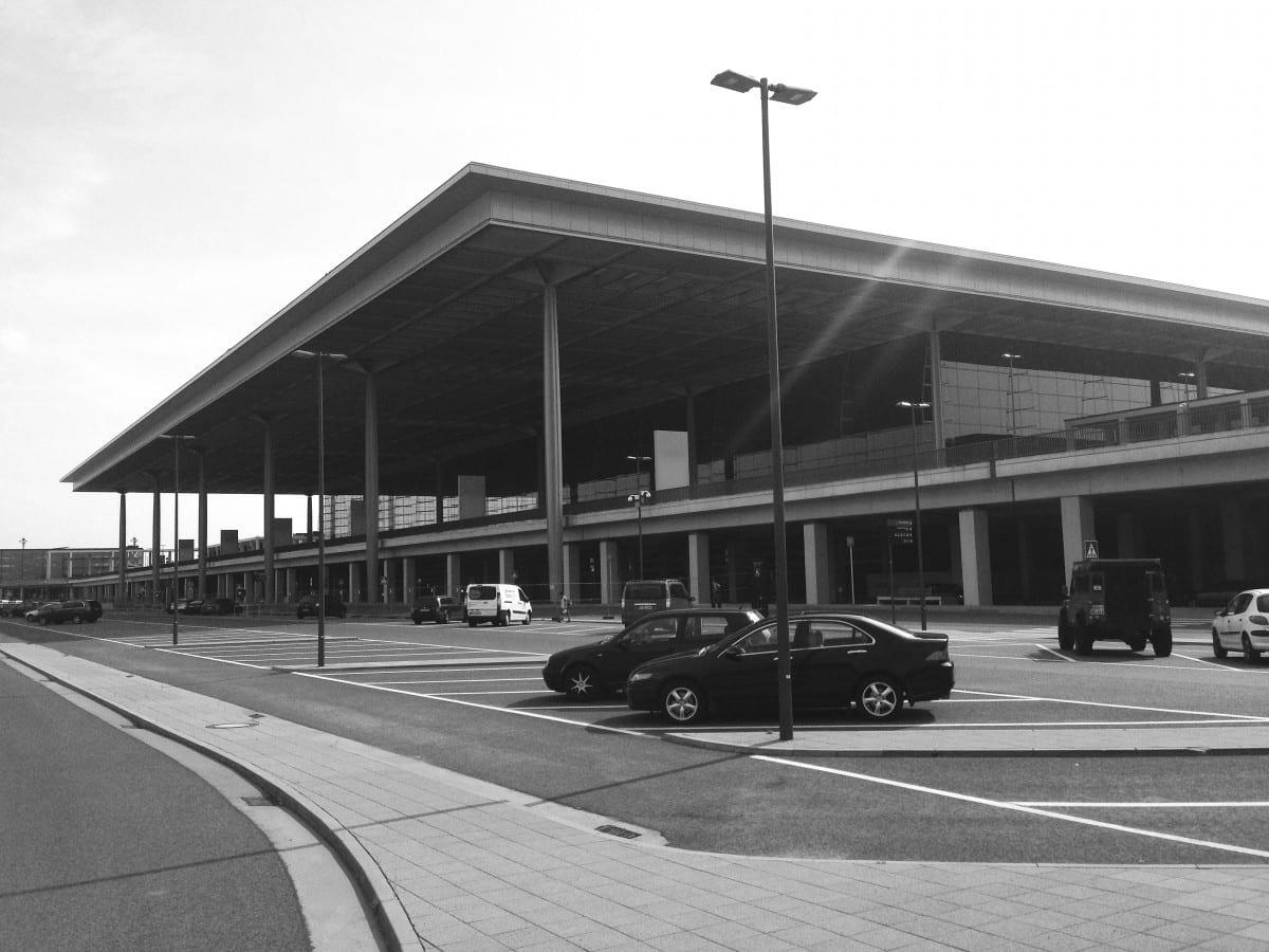 Ansicht des BER-Terminals von Nordosten (Foto: Eric Sturm)