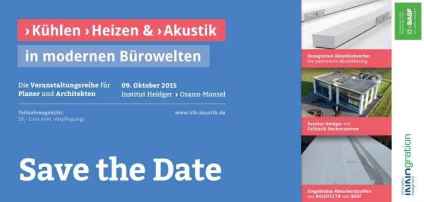 Veranstaltung: Kühlen, Heizen und Akustik