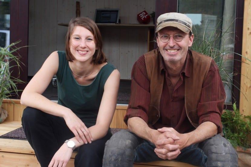 Theresa Steininger und Christian Frantal von Wohnwagon