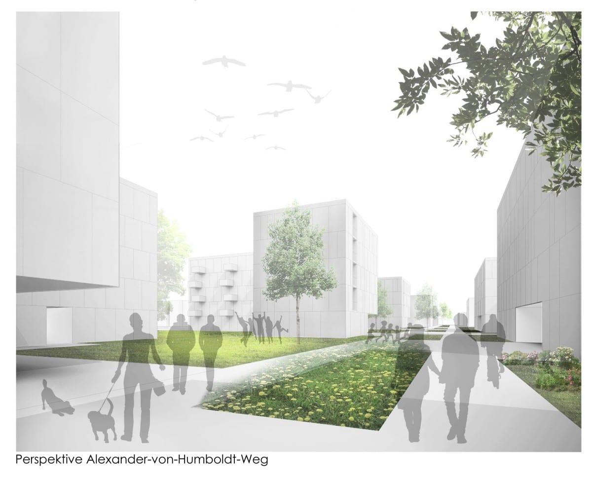 400 Neue Wohnungen Für Berlin Adlershof: Siegerentwurf Für Projekt U201cWohnen  Am Campus IIu201d Ausgezeichnet