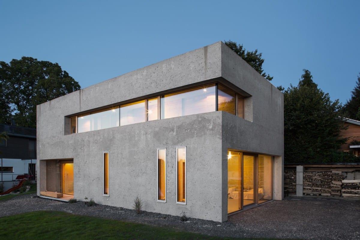 D mmbeton grundofen photovoltaik wohnhaus nickel bernhardt wei ensberg - Architekten lindau ...