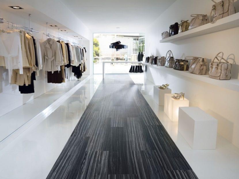 Brio-Boden von SKEMA in einer Boutique