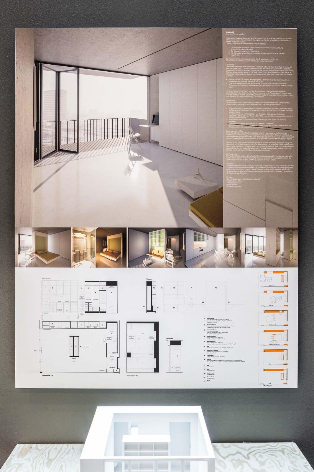 mikrowohnen auf 27 qm berliner architekten entwickeln platzsparende wohnformen. Black Bedroom Furniture Sets. Home Design Ideas