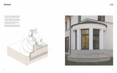 """Beispielseite aus """"Architektonische Details"""" von Tobias Nöfer"""