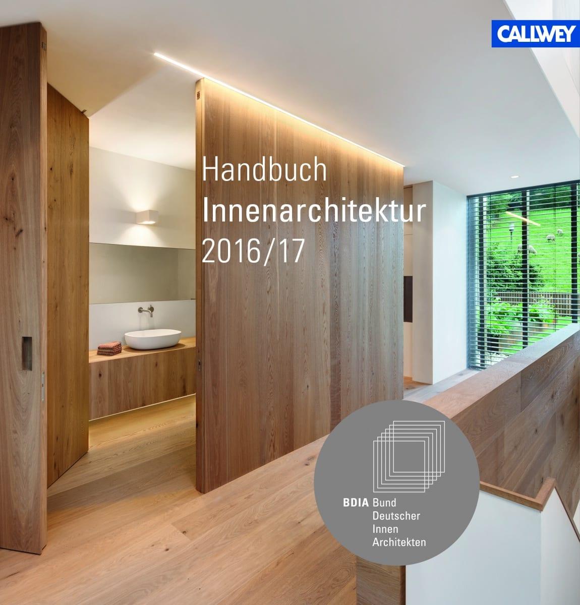 das neue handbuch innenarchitektur 2016 17 des bund. Black Bedroom Furniture Sets. Home Design Ideas