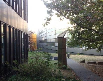 Die Philologische Bibliothek, Freie Universität Berlin (Foto: Eric Sturm)