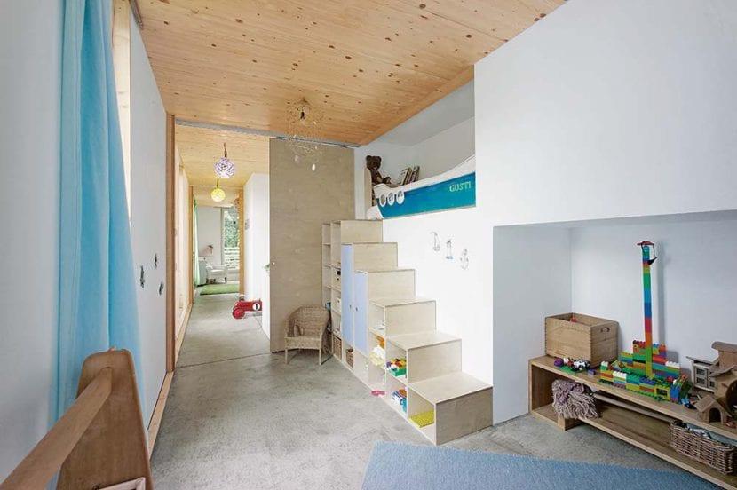 """Kinderzimmer im Haus """"Kleine Welle"""" (Foto: werk A architektur)"""