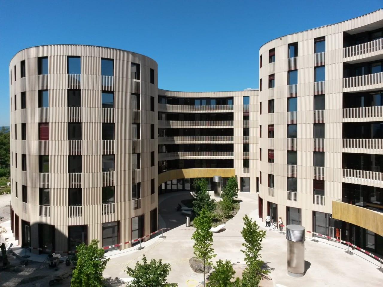 Innenarchitektur Eth Zürich holzbau fassaden in der science city der eth zürich