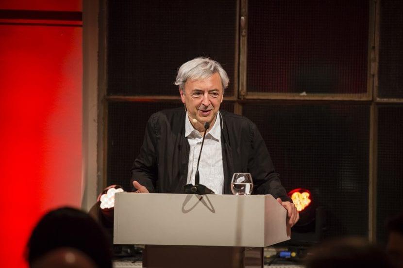 Der Juryvorsitzende Enrique Sobejano, DETAIL Preis 2016 (Foto: Kathrin Heller, pixelanddot.com)