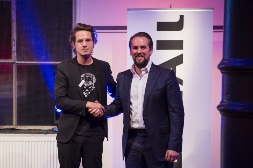 Gilles Retsin und Philipe Block, DETAIL Preis 2016 (Foto: Kathrin Heller, pixelanddot.com)