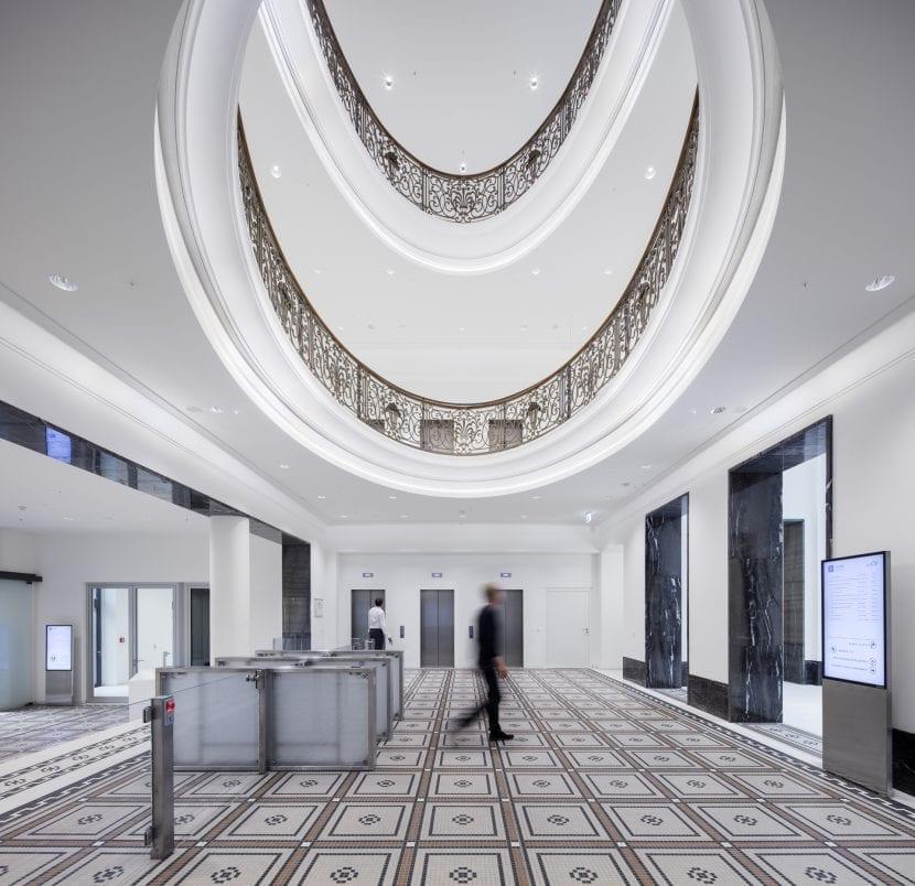 Eingangsbereich der Neuen Direktion Köln (Foto: Jens Kirchner)