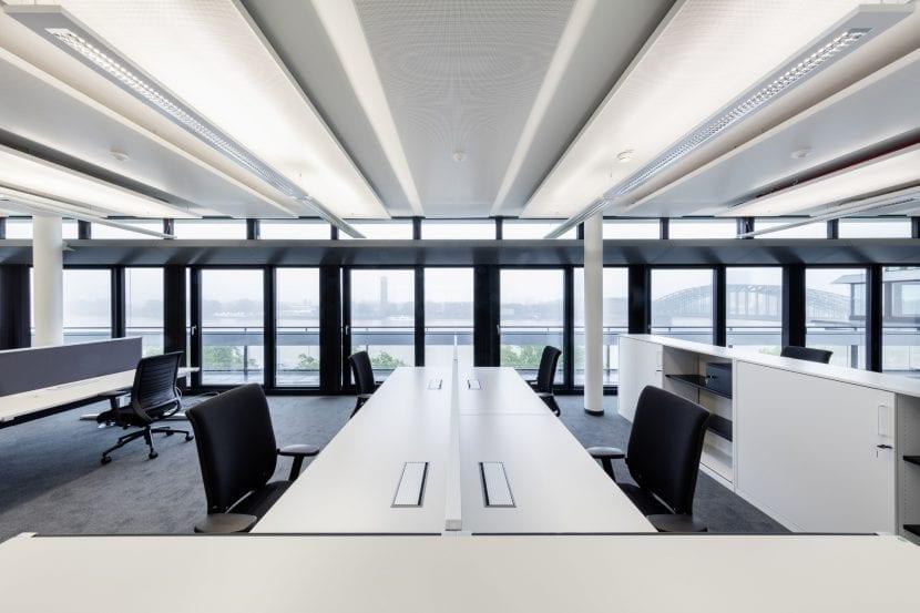 Büroarbeitsplätze in der neuen EASA-Direktion (Foto: Ralph Richter)