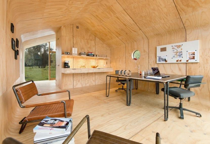 Das Wikkelhouse ist auch als Büro nutzbar (Foto © Yvonne Witte)