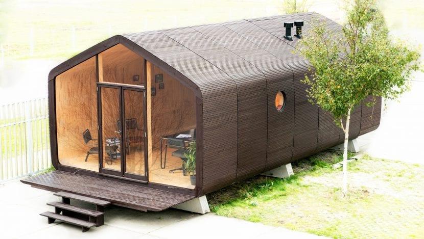 Ein Wikkelhouse aus sechs Modulen / Segmenten (Foto © Yvonne Witte)