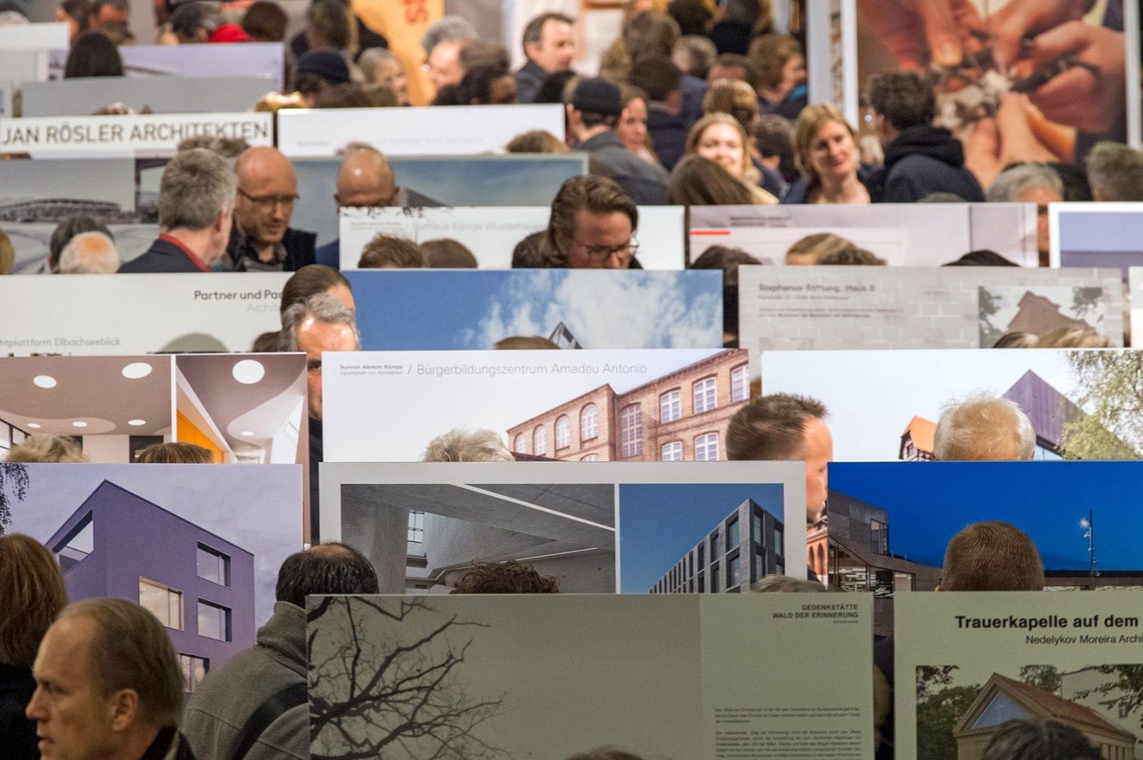 Da Architektur In Und Aus Berlin Jahresausstellung Architektenkammer