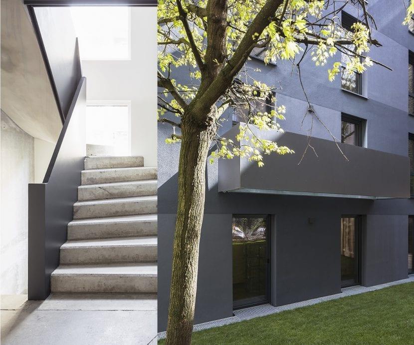 berlin moabit wohnhaus aus holz massiv elementen in systembauweise. Black Bedroom Furniture Sets. Home Design Ideas
