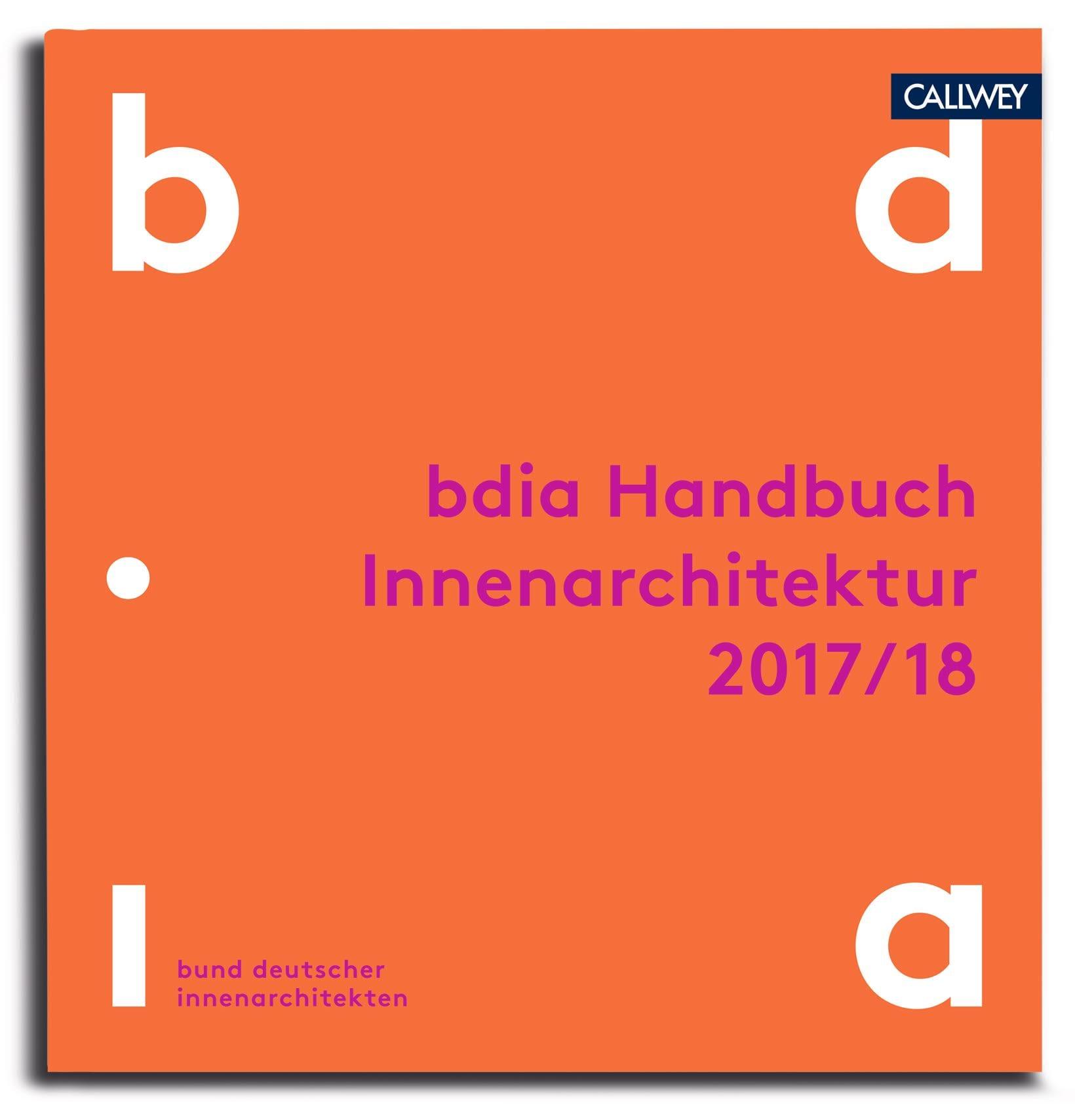 """das """"handbuch innenarchitektur 2017/18"""" des bdia ist erschienen, Innenarchitektur ideen"""