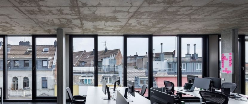 Das Lofthaus Brusseler Strasse Von Lepel Lepel In Koln