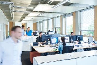 Blick ins Büro: SSP AG, Bochum