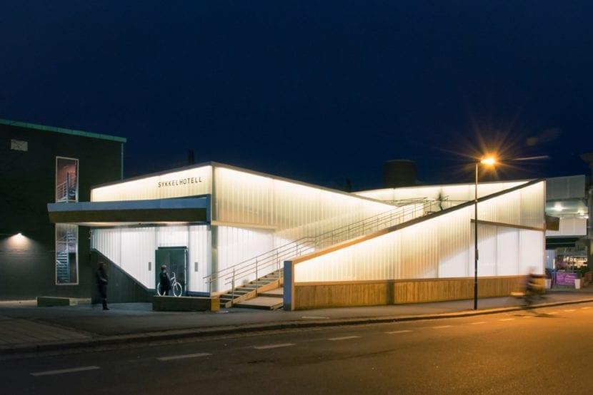 Sykkelhotell, Lillestrøm/Norwegen, 2016 (© Foto: Ibrahim Elhayawan)