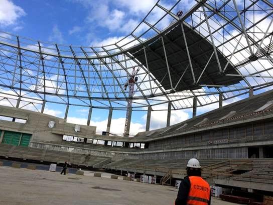VTB-Arena, Moskau (Frühjahr 2018; Foto: Xella)