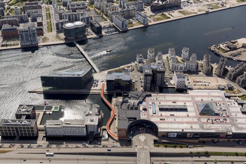 Nordic Urban Spaces: Kopenhagen Cykelslangen (Foto: Ole Malling)
