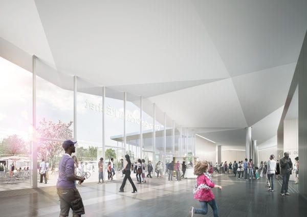 Gare de Créteil L'Echat (Visualierung: Agence Nicolas Michelin et Associés)