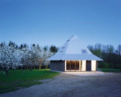 Pavillon Pinnow, Uckermark von Thomas Kröger Architekten (Foto: T. Heimann)