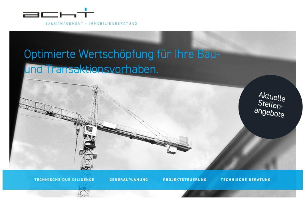 Dein Job bei acht+ Baumanagement & Immobilienberatung GmbH in Berlin
