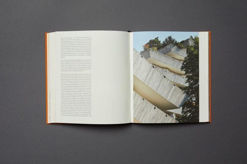 Buch-Doppelseite aus FRANKFURT 1970-1979: Till Behrens, eigenes Wohnhaus (Foto: Wilhelm E. Opatz)