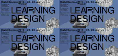 Digital Bauhaus Summit 2019 – Learning Design