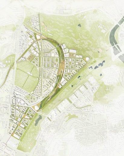 Der Lageplan des neuen Rosenstein-Quartiers (Grafik: asp Architekten / Koeber Landschaftsarchitekten)