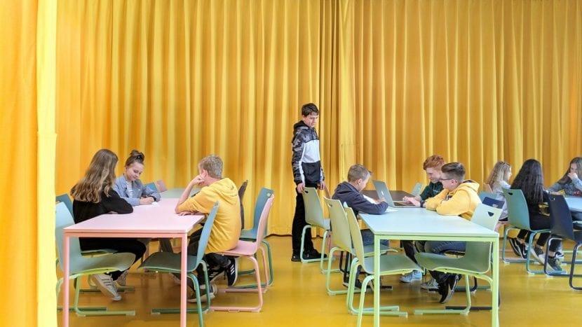 Mensa, Gesamschule Rheda-Wiedenbrück (Foto: Sigurd Larsen Design & Architecture)