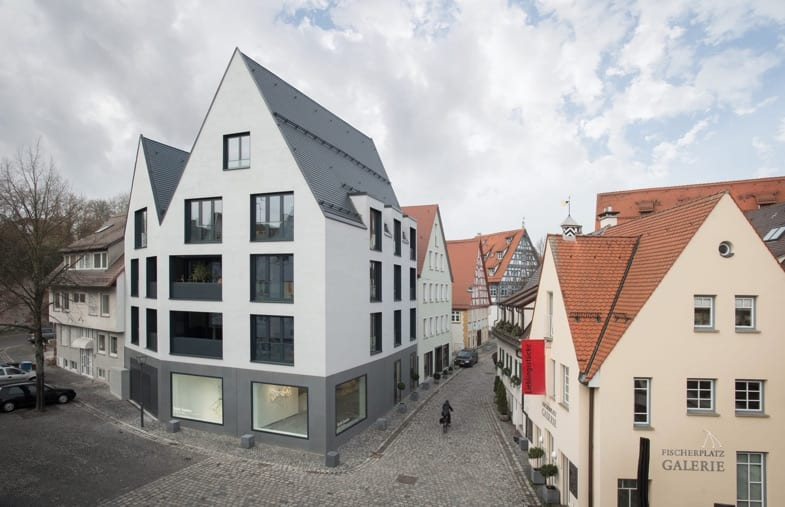 haus f34 am Saumarkt in Ulm von Bottega Ehrhardt Architekten (Foto: David Franck, Ostfildern)