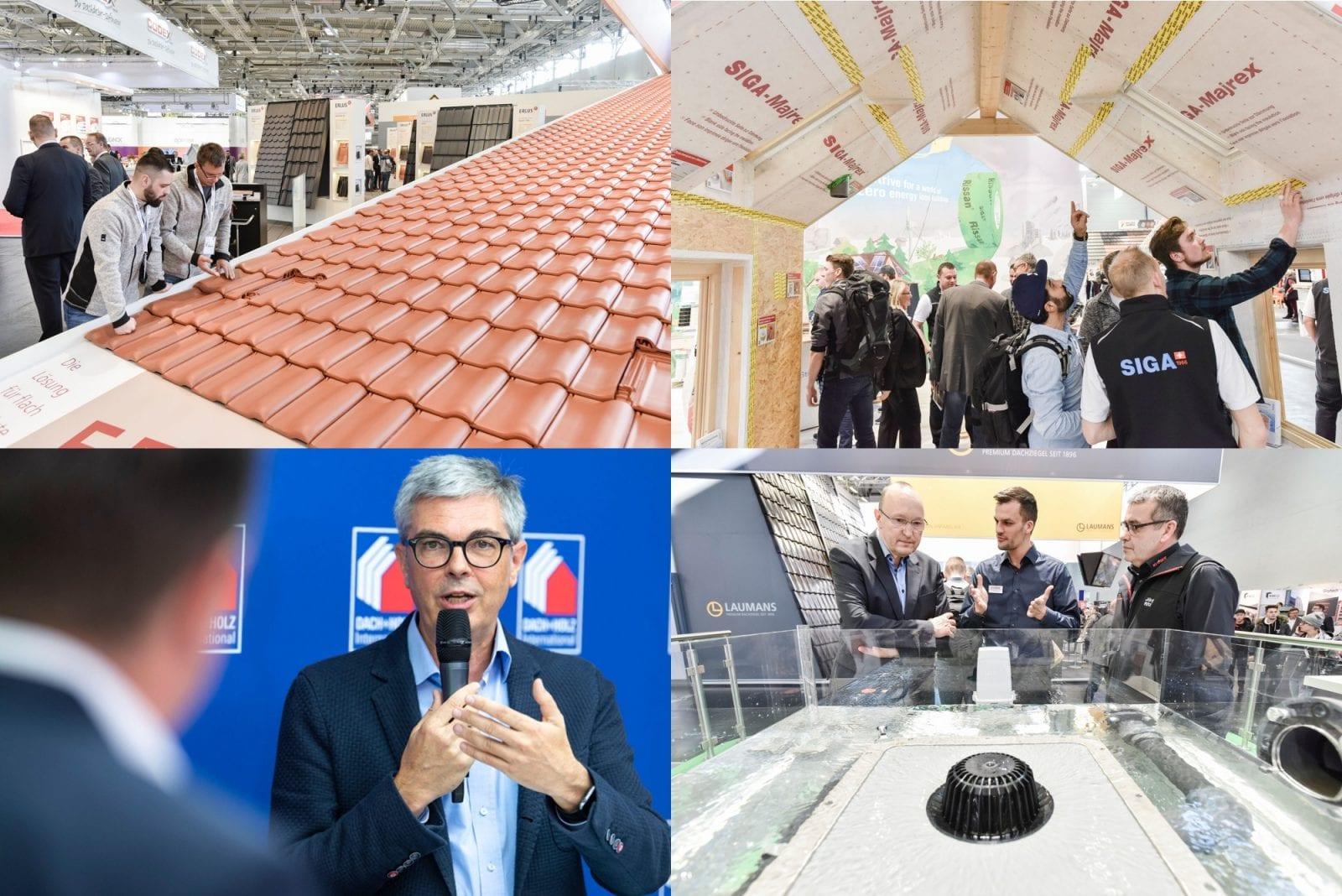 Alles zu Dach, Fassade & Holzbau: Die Messe DACH+HOLZ International ist für Handwerker, Architekten und Planer ein Pflichttermin. Fotos: GHM