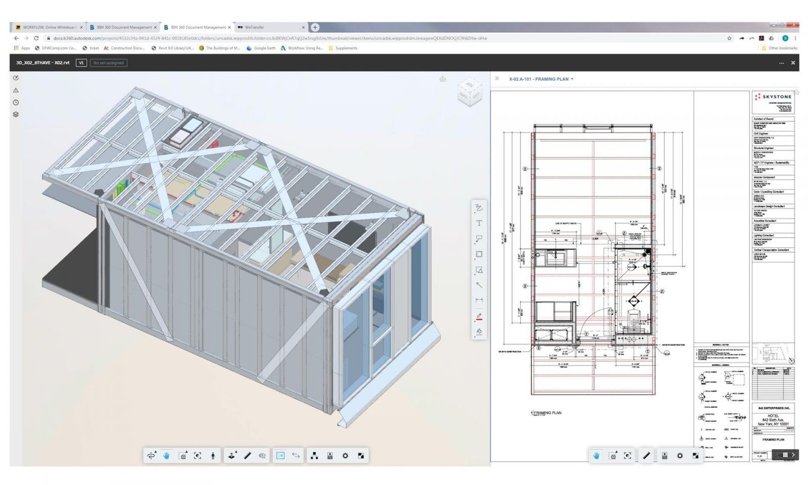 Die BIM 360-Plattform ermöglicht die Verwaltung aller Projektdaten und eine nahtlose Zusammenarbeit des Teams (Foto © Autodesk)