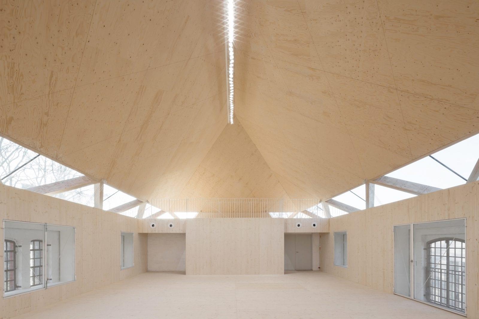 Die denkmalgeschützte ehemalige Reiterkaserne auf dem Kulturcampus Münster (Foto: Andreas Schüring Architekten BDA)