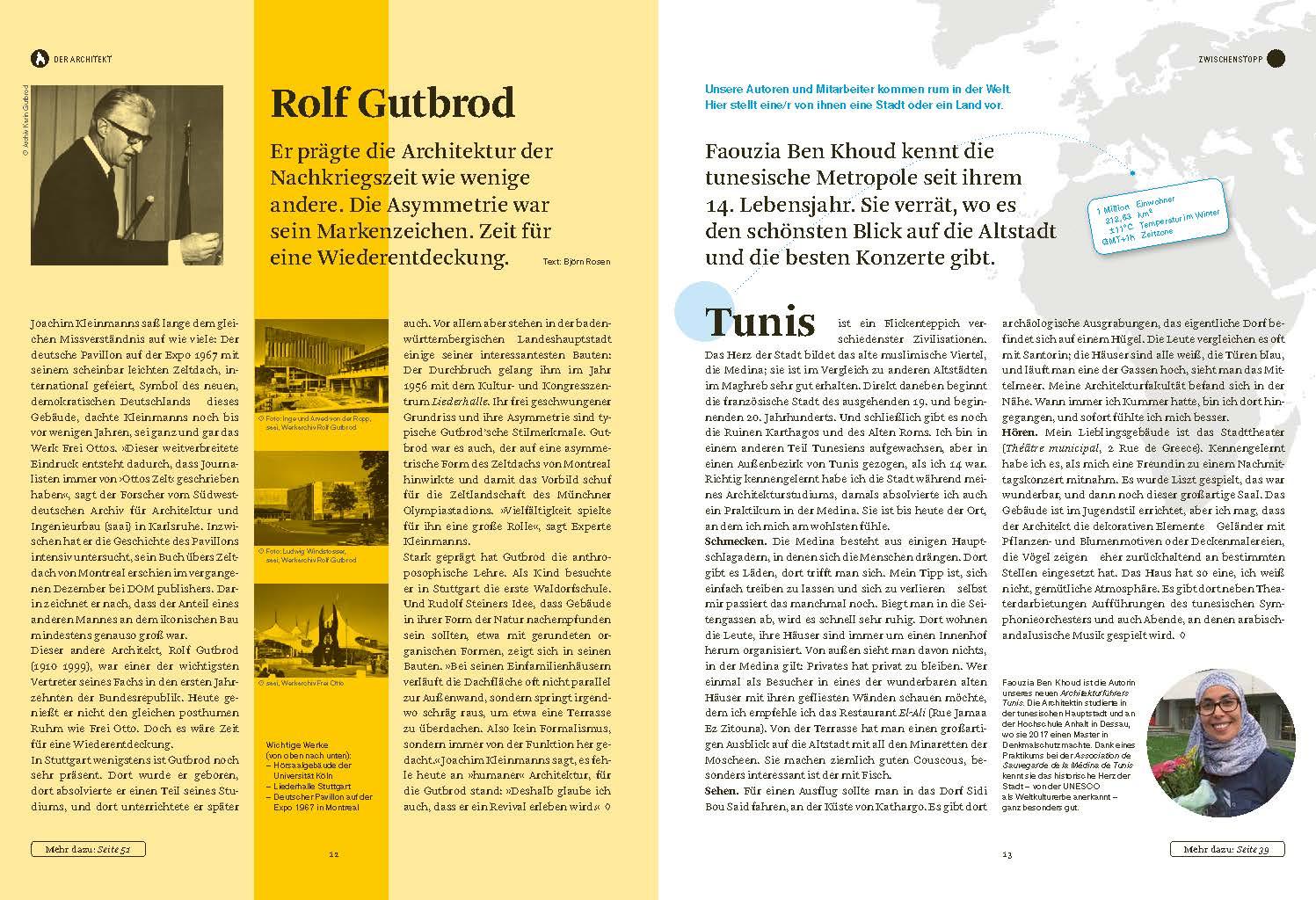 DOM magazine 01/2020, Seiten 12/13 (Bild: DOM publishers)
