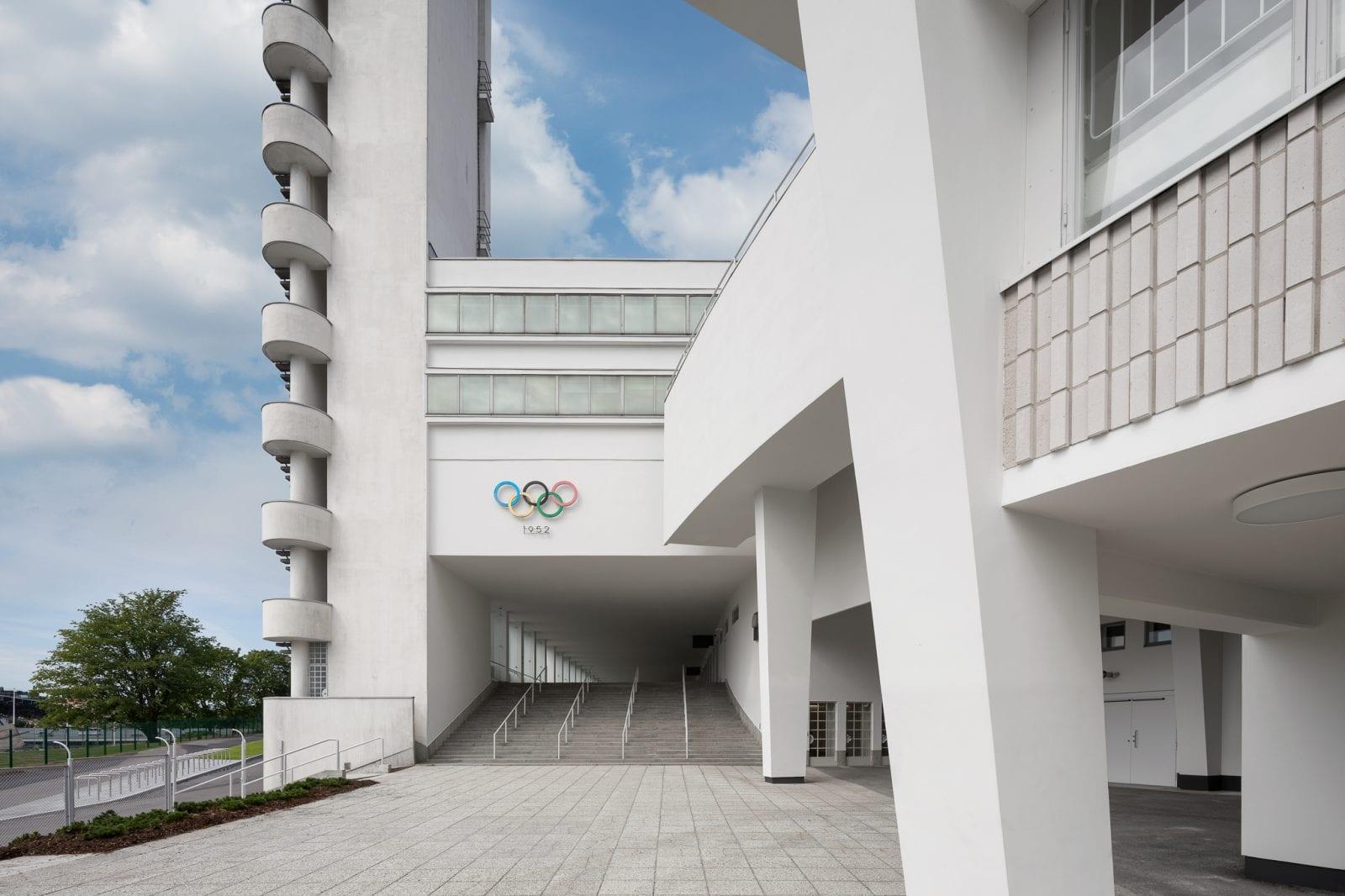 Eingangsbereiche des modernisierten Olympiastadions in Helsinki (Foto: Wellu Hämäläinen)