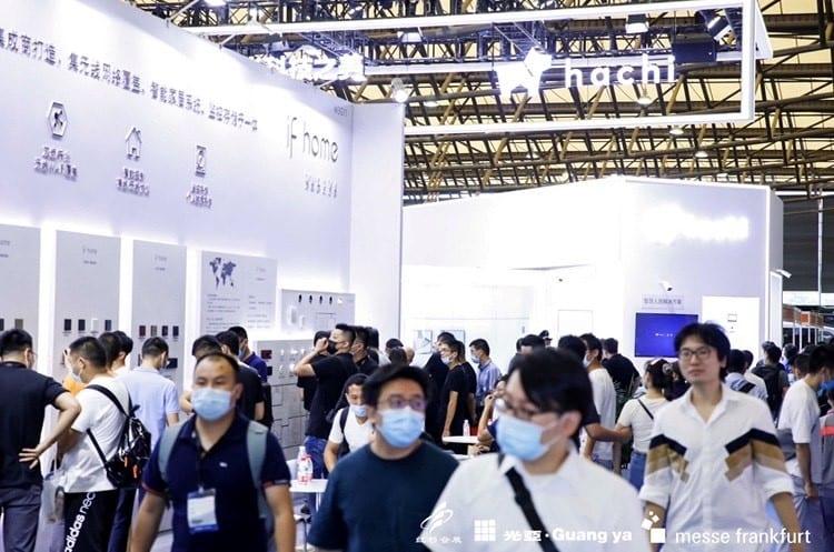 "Anfang September 2020 fanden die ""Shanghai Intelligent Building Technology"", die ""Shanghai Smart Home Technology"" und die ""Parking China"" parallel statt (Foto: Messe Frankfurt Hong Kong Ltd)"