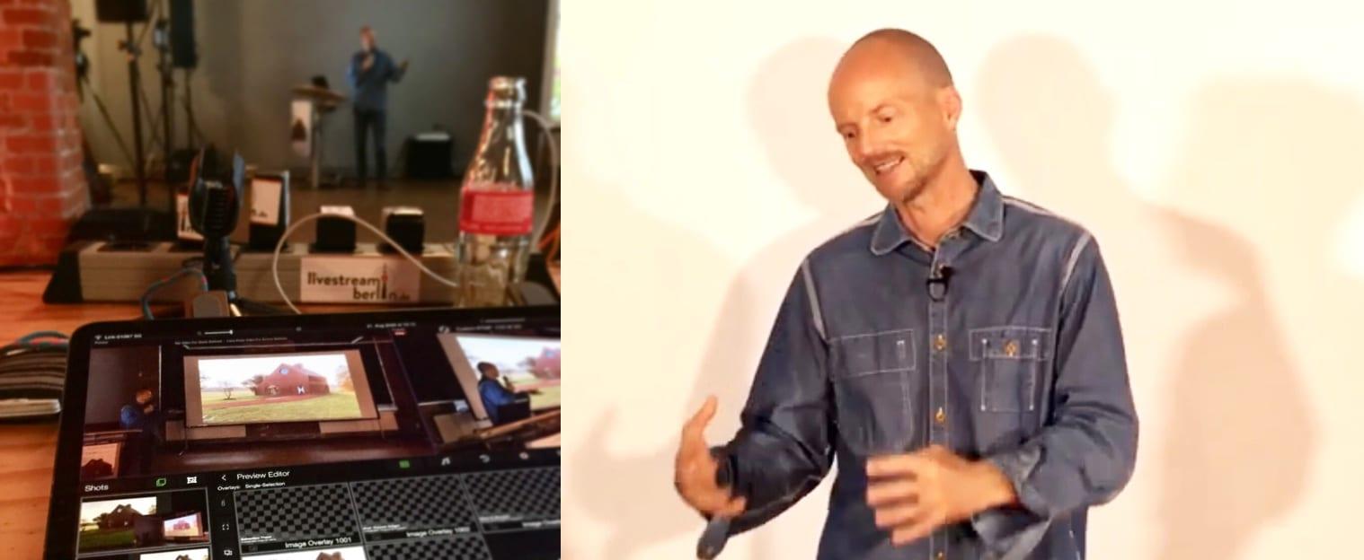 Vortrag von Thomas Kröger (tka, Berlin) bei den Dachkult-Rooftop Talks #9 (Fotos: Eric Sturm und Dachkult)
